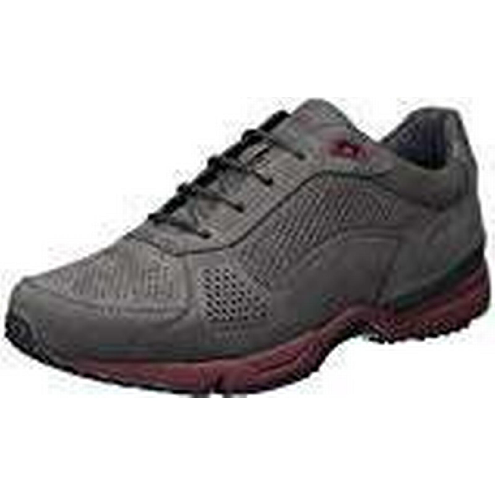 BOSS Athleisure Men's Velocity_Runn_nupf 10201647 Grey 01 Trainers, Grey (Dark Grey 10201647 021), 10 UK 24850e