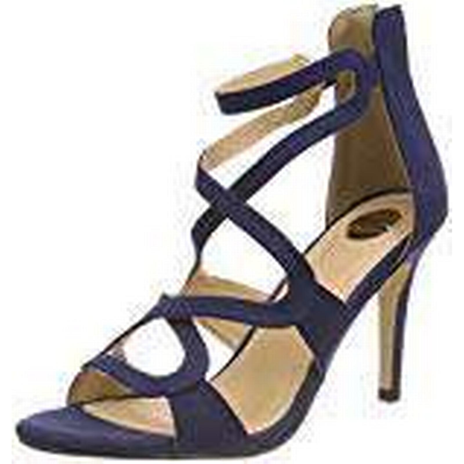 Buffalo Women's 315972 BHWMD A300# IMI Blue SUED Ankle Strap Sandals, Blue IMI (Navy 10 001), 5.5 UK 5.5 UK fc71a8