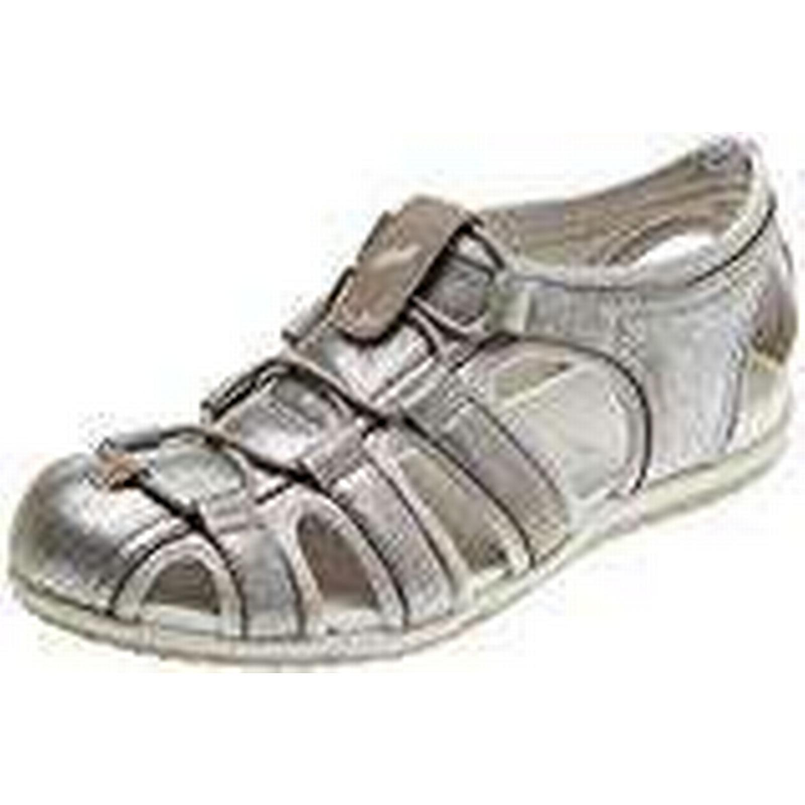 Geox Women's Vega D Open Toe C0742), Sandals, (LT Grey/Off White C0742), Toe 5 UK 5 UK 807e70