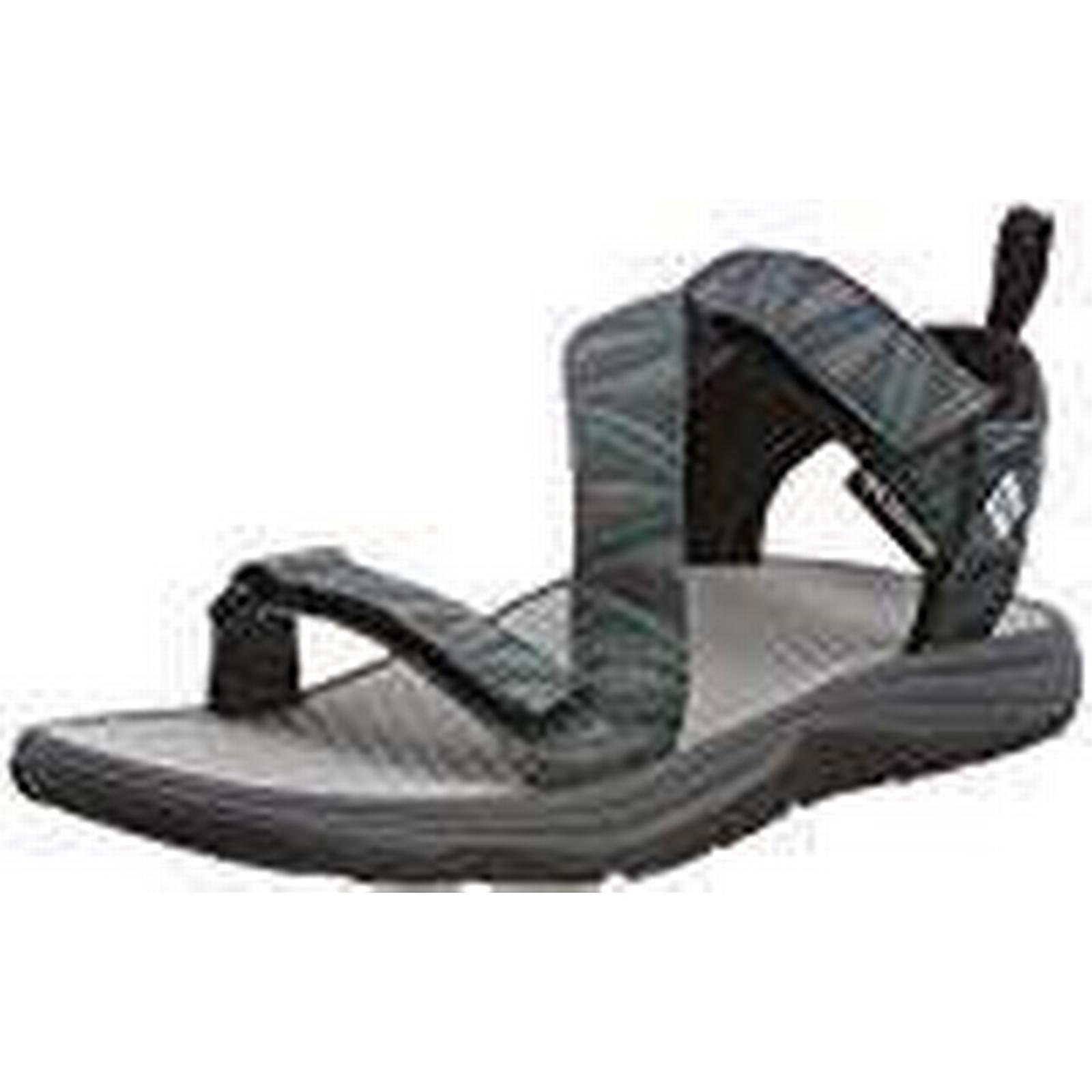 Columbia Men's Sandals, WAVE TRAIN, 10 Grey (Graphite/ White), Size: 10 TRAIN, f7892a