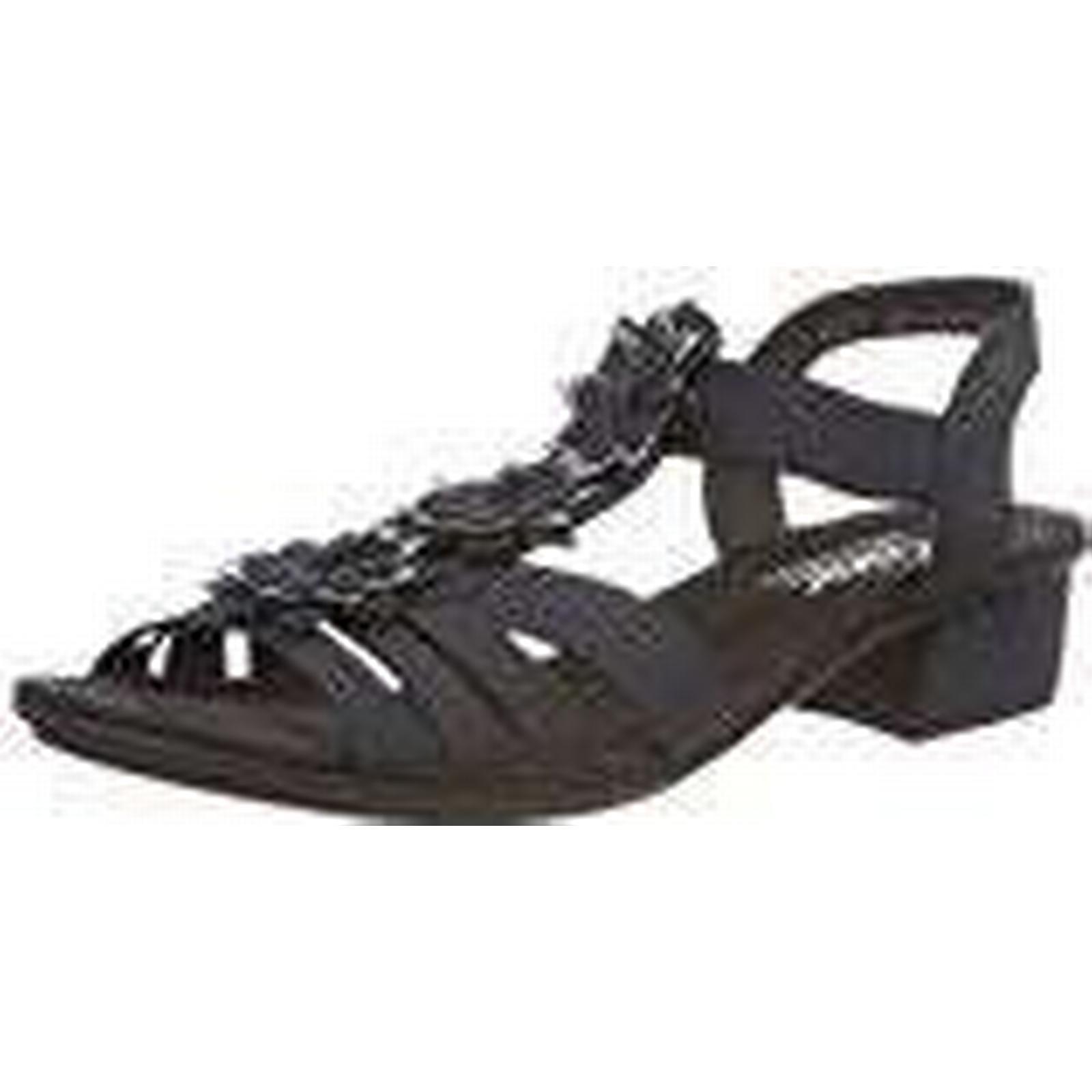 Rieker Women's V6262 Closed Toe Sandals, Blue 5 (Pazifik/Adria 15), 5 UK 5 Blue UK f35af8