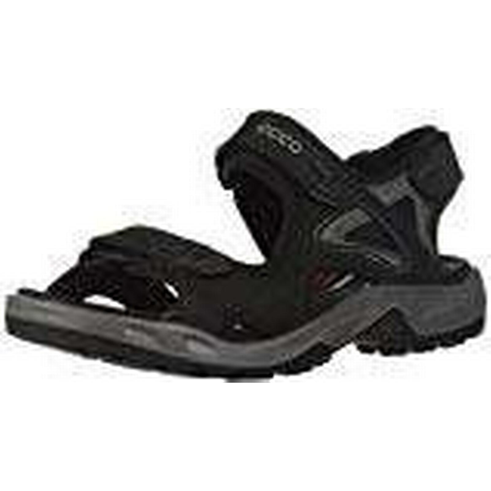 ECCO Men's Offroad Open Toe UK Sandals, (Black 56340), 7.5 UK Toe 7.5 UK 8dd562