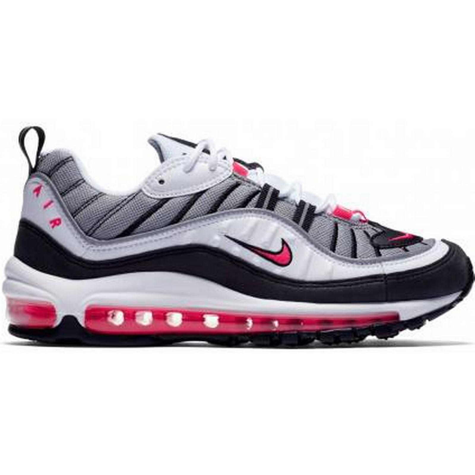 Nike WMNS Air Max 98 Silver) (White / Red / Silver) 98 266b99
