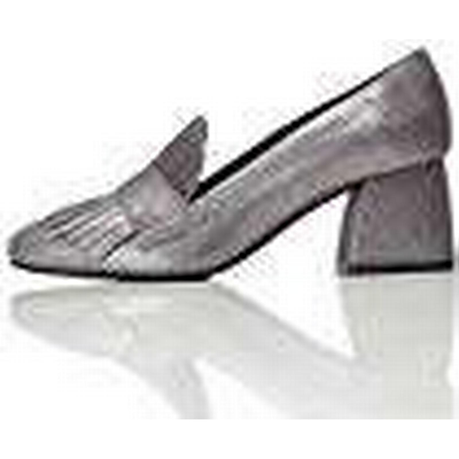 FIND Ari Heeled, Women's 3 Closed-Toe Heels Silver (Silver) 3 Women's UK (36 EU) 0681bc