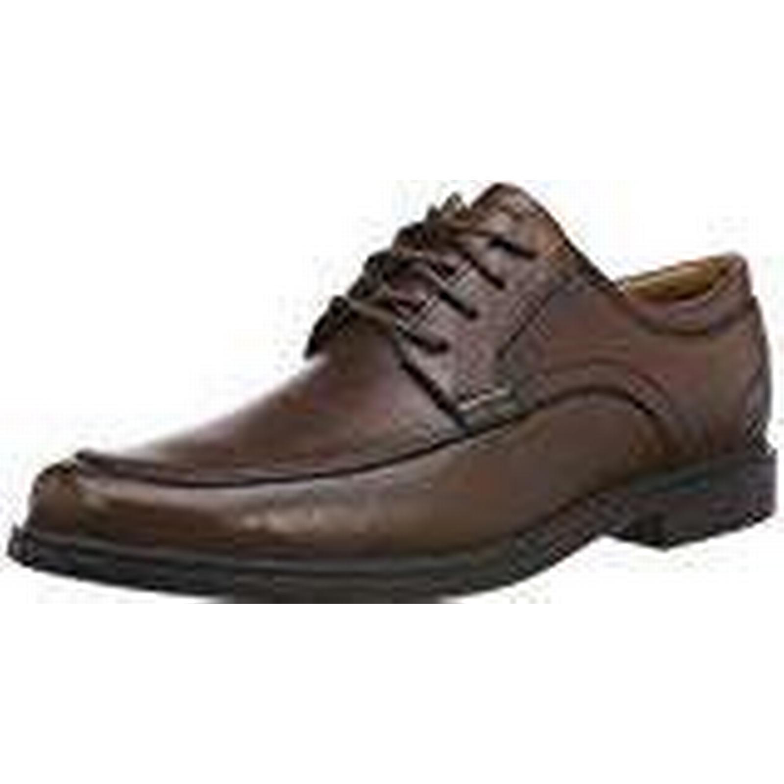 Clarks Men''s 8.5 Un Aldric Park Derbys, Brown (Tan Leather), 8.5 Men''s UK 8.5 UK 5ad746