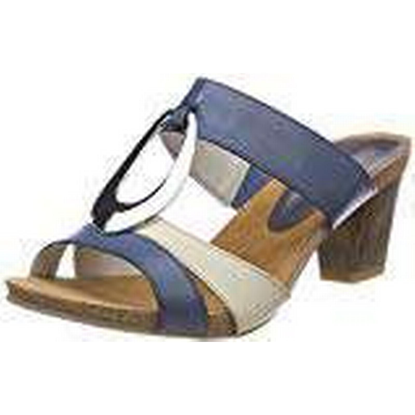 CAPRICE Women''s 27210 Mules, 5 Multicolor (Navy/Beige 878), 5 UK 5 Mules, UK 62991e