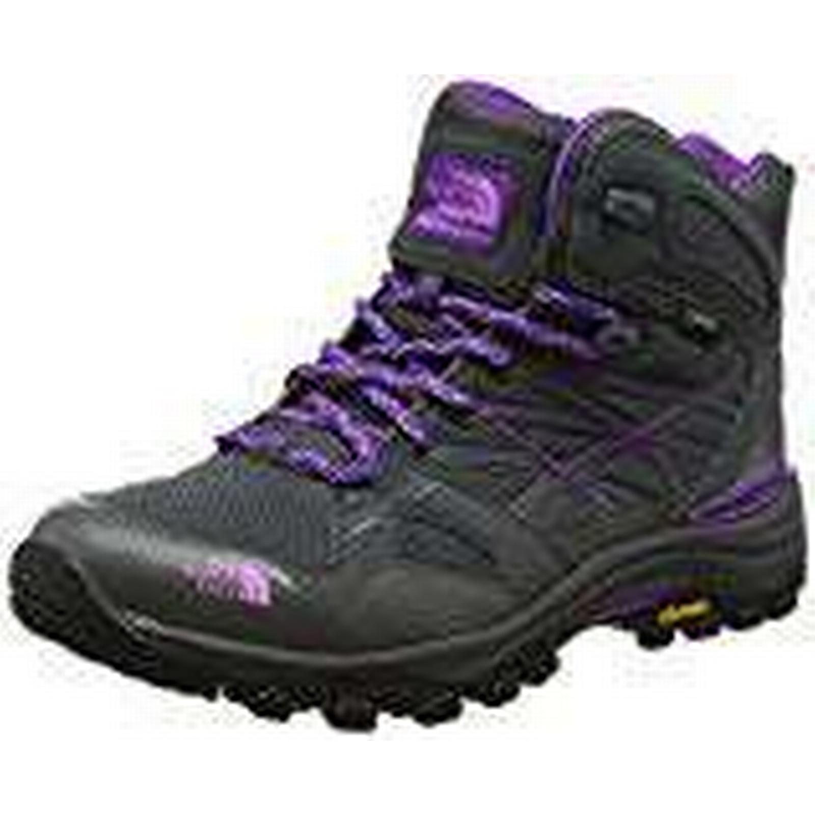 THE NORTH FACE Women's Hedgehog Rise Fastpack Mid GTX High Rise Hedgehog Hiking Boots, (Dark Shadow Grey/Violet Tulle TCR), 9 (42 EU) 317361