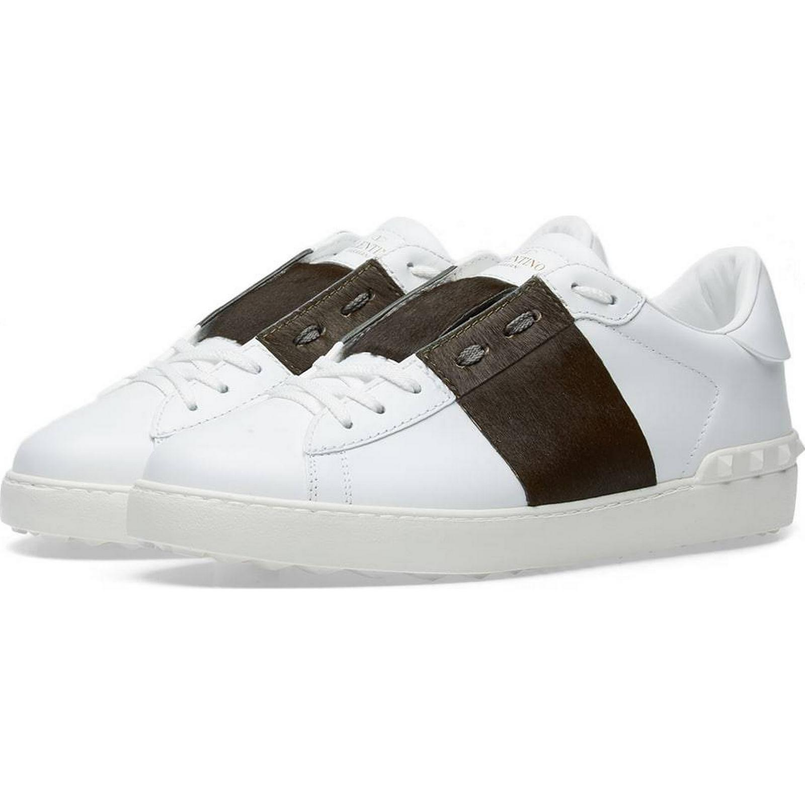 Valentino Pony Skin White:Mr/Ms: Open Low Top Sneaker White:Mr/Ms: Skin Complete specifications 2d5646