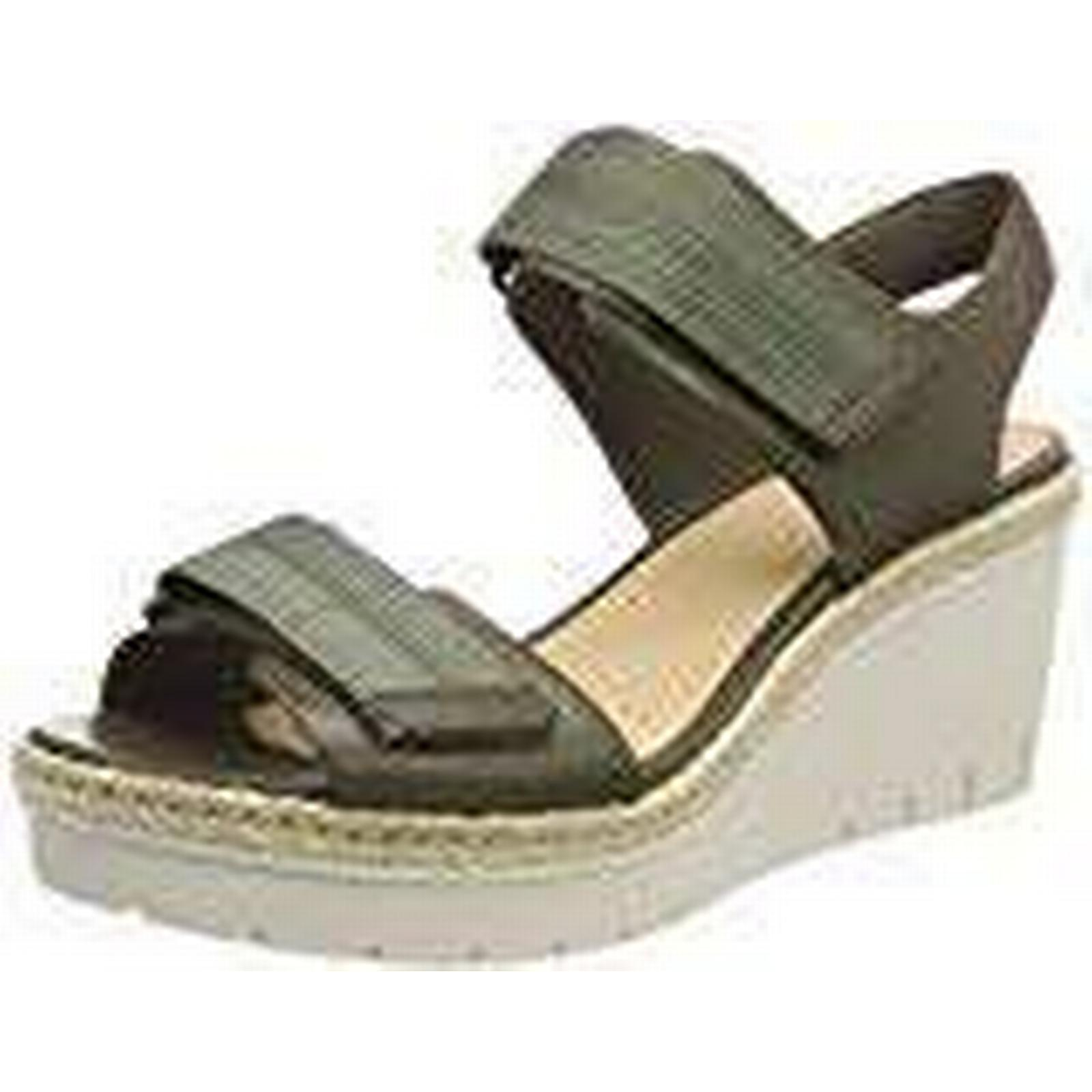Clarks Leather), Women's Palm Shine Ankle Strap Sandals, Green (Khaki Leather), Clarks 6 UK 6 UK b81a85
