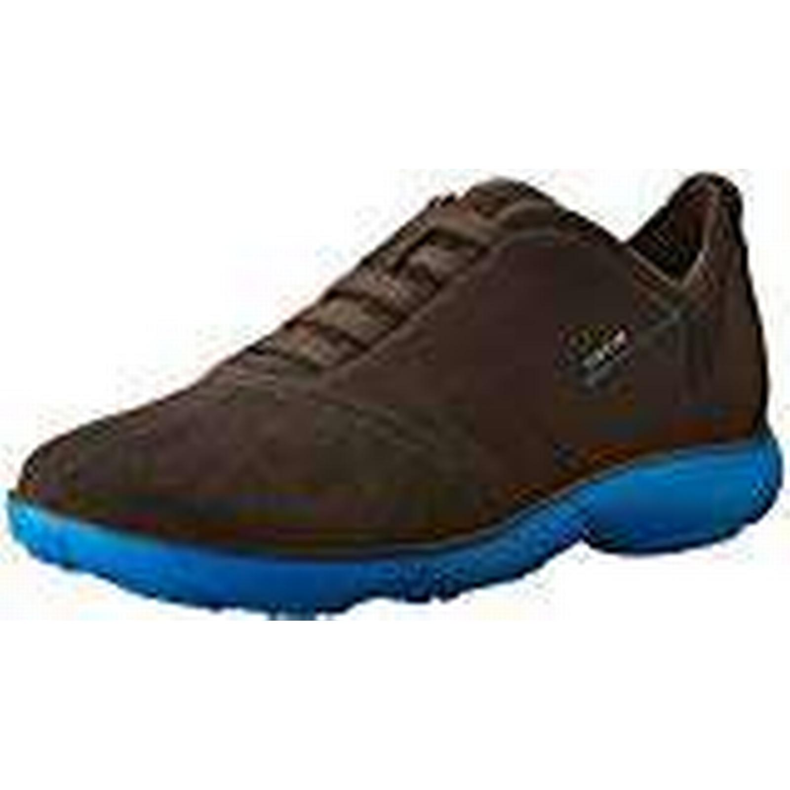 Geox Men U Nebula F 11 Low-Top Sneakers, Brown (Coffee/BLUEC1696), 11 F UK f5cfad