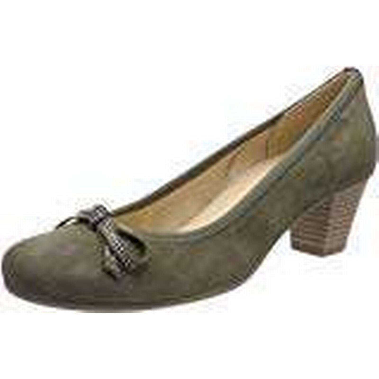 Gabor Shoes Women''s (Oliv), Basic Closed-Toe Pumps, Green (Oliv), Women''s 5 UK 2b2c6d
