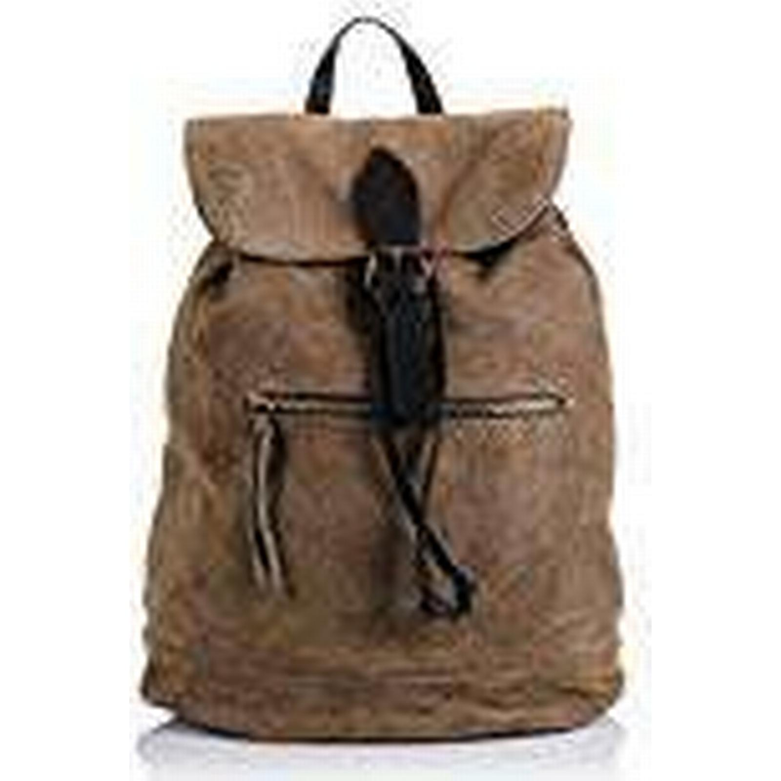 FIRENZE ARTEGIANI Women's Backpack Taupe Taupe Taupe 2f47c1