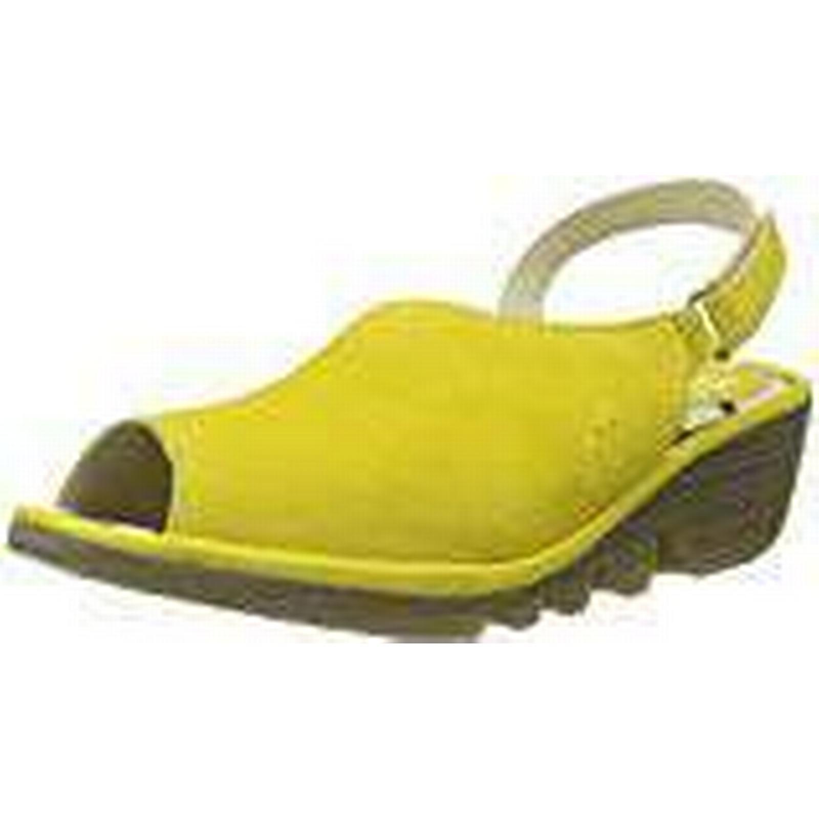Fly London Women's Yellow Palp814Fly Sling Back Sandals, Yellow Women's (Lemon), 4 UK 37 EU 29bd71