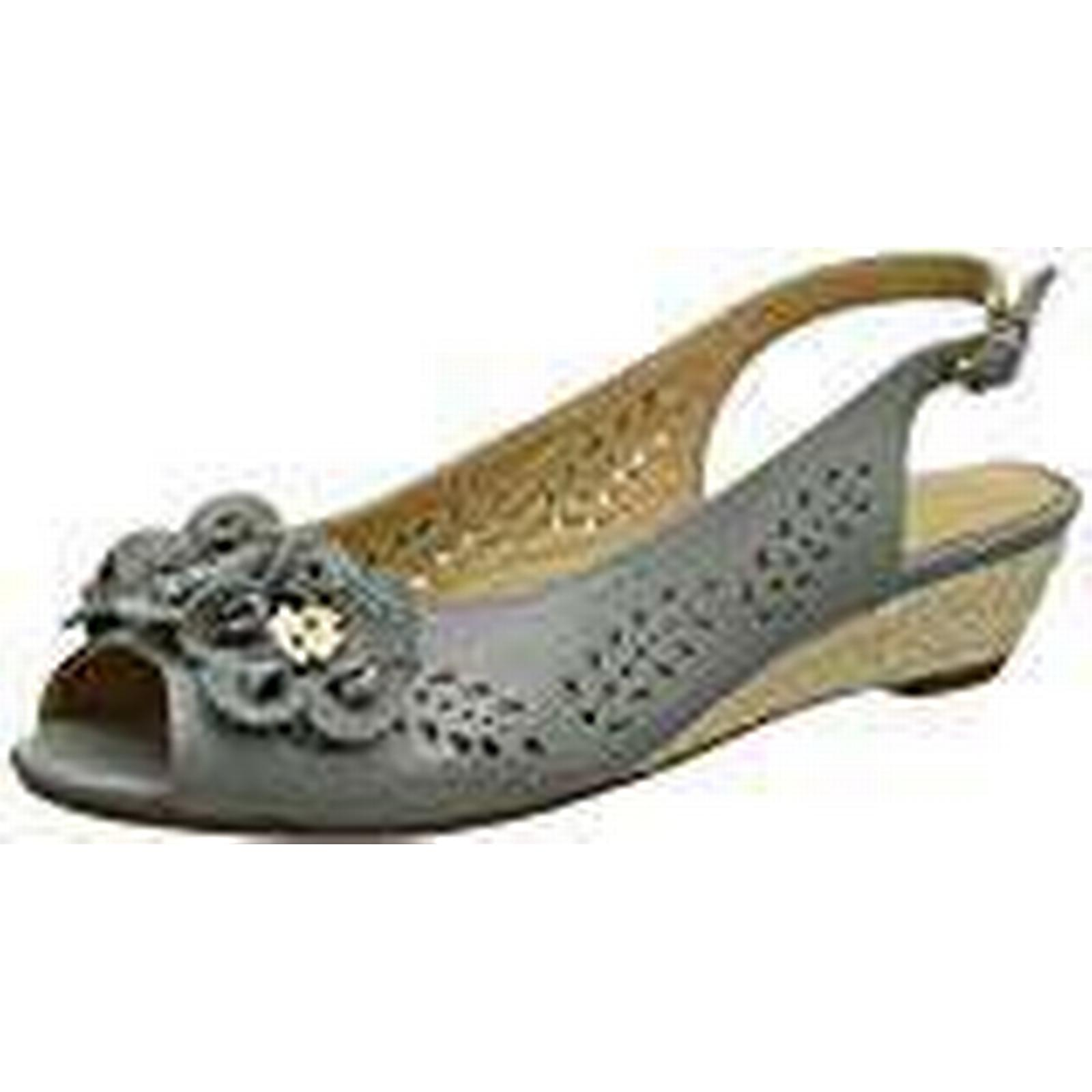 Hotter Women''s Betsy UK Open-Toe Sandals, Grey (Duck Egg), 8 UK Betsy 42 EU 55df50