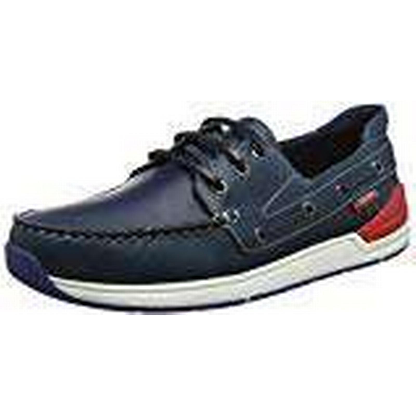 Chatham Men's Beacon Boat (43 Shoes, Blue (Navy 001), 9 (43 Boat EU) f7e839