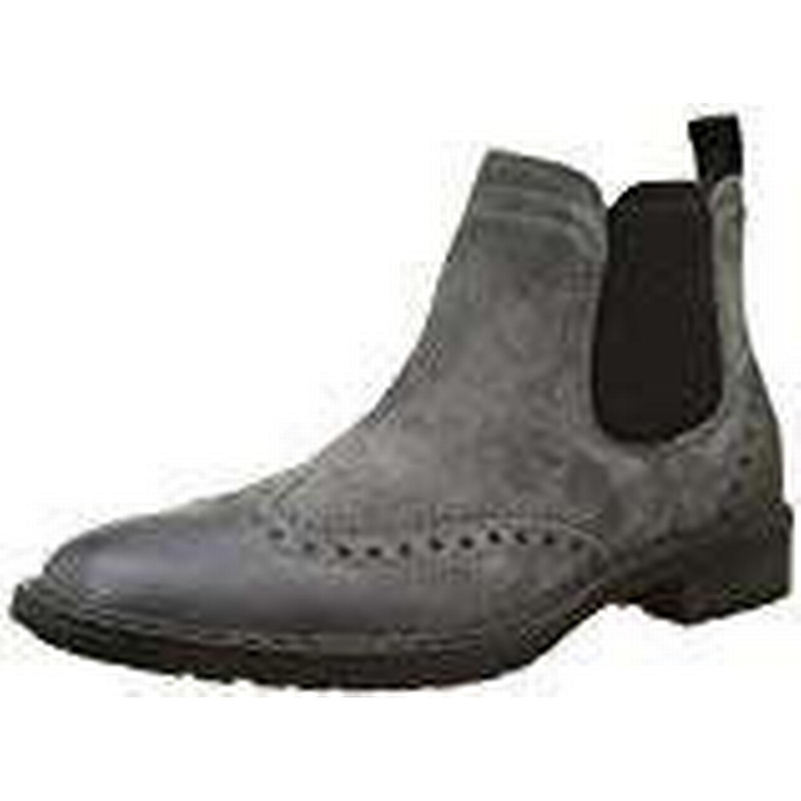 Geox Men''s 10.5 U Kapsian D Chelsea Boots, Grey (Anthracite), 10.5 Men''s UK 10.5 UK 9a7e91