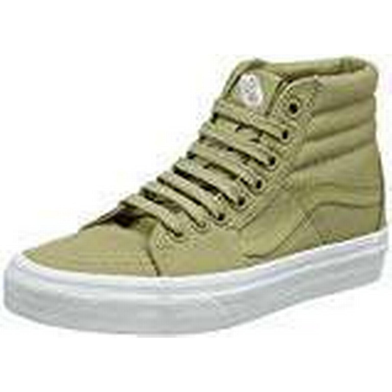 Vans Unisex Adults' SK8-Hi Hi-Top Trainers, Green (Mono Canvas) Boa EU Qd9, 10.5 UK 45 EU Boa 5f8709