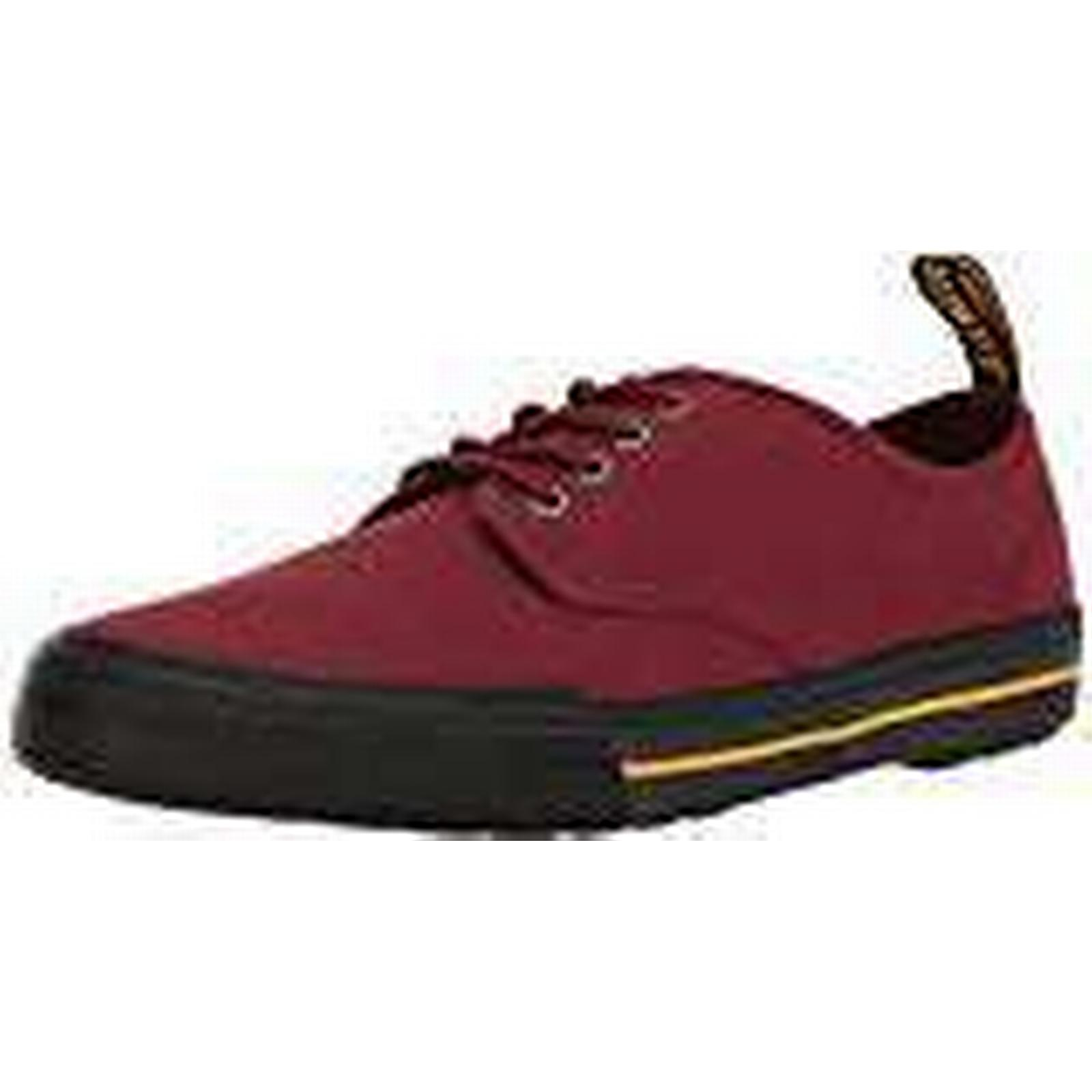 Dr. Trainers, Martens Unisex Adults' Pressler Trainers, Dr. (Cherry Red 600), 9 (43 EU) 4f4ff0