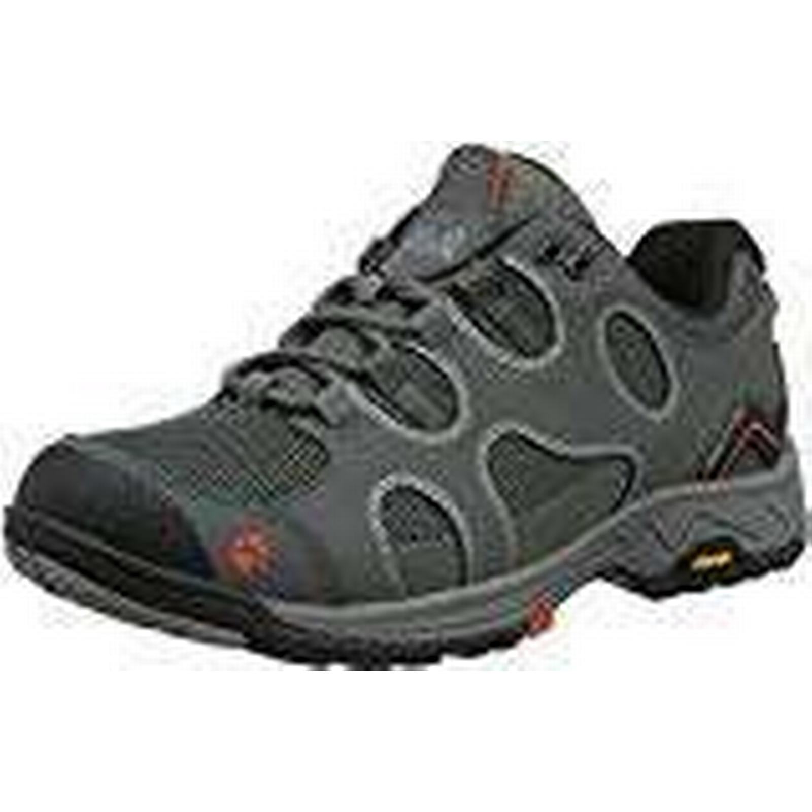 Jack Wolfskin Women's Crosswind W Grey Low Rise Hiking Boots, Grey W (Tarmac Grey), 37.5 37.5 EU 0daf7a