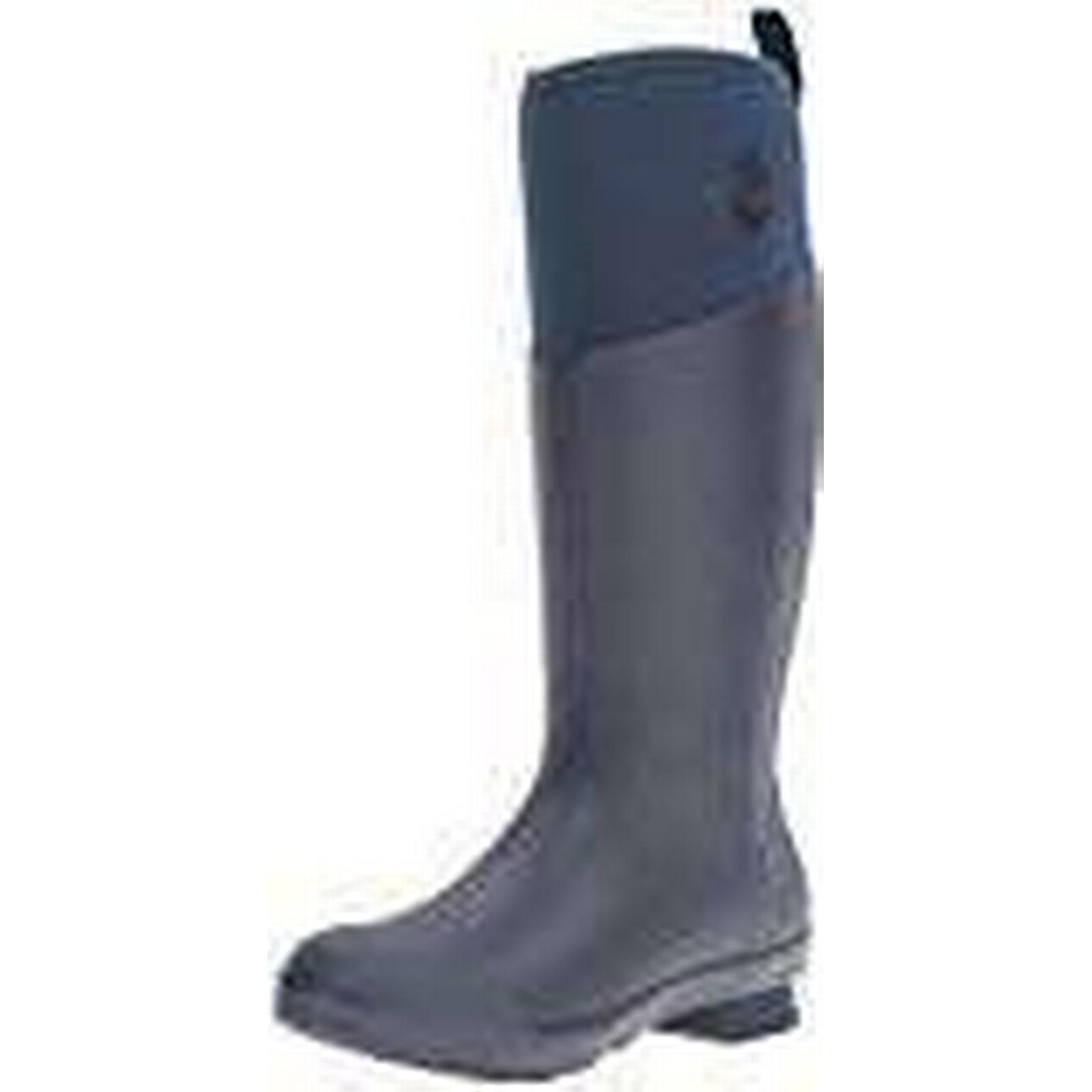Muck Boots Women''s Tremont Wellie Matte Tall Wellington, Black (Total EU Eclipse/Charcoal), 9 UK 43 EU (Total 34503c