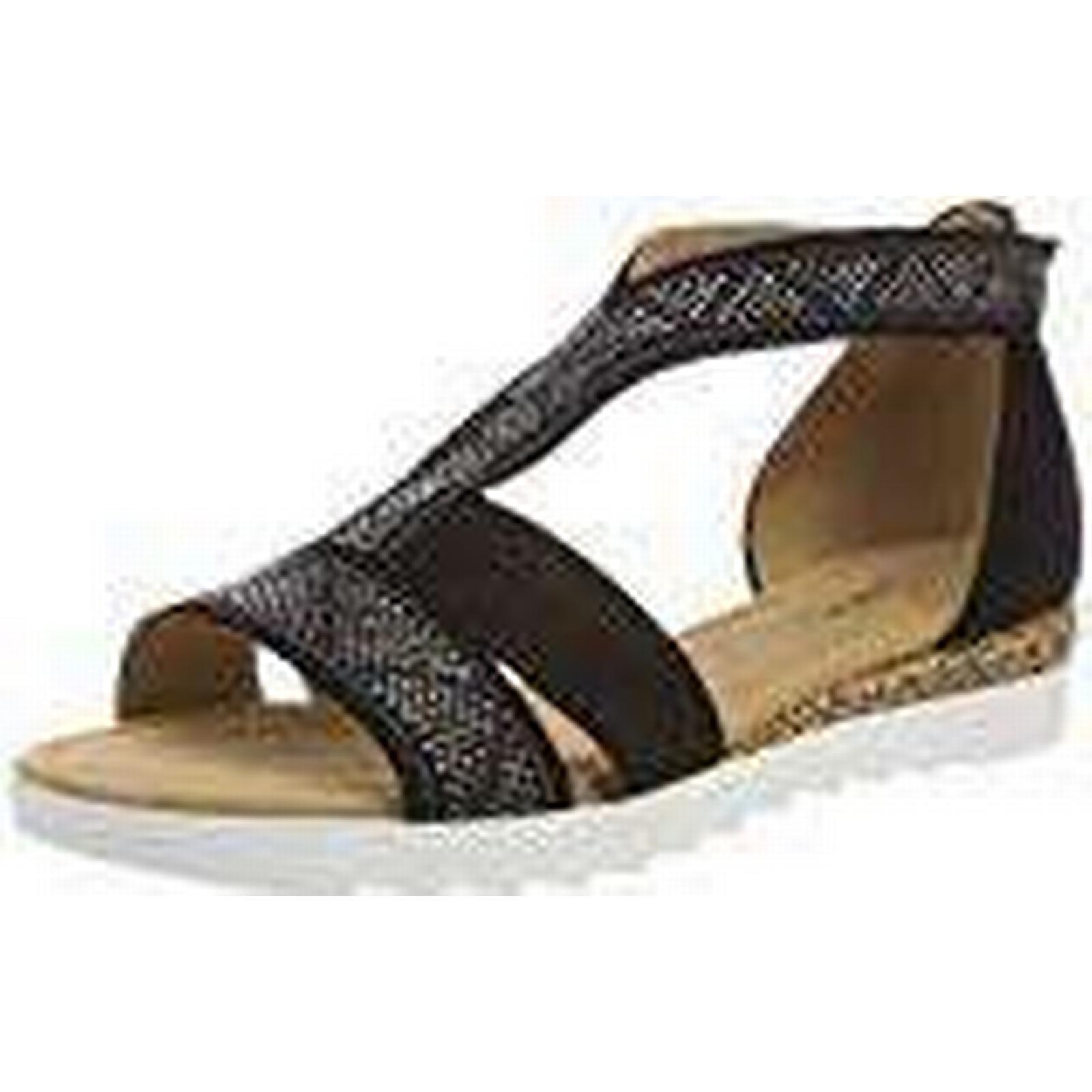 Gabor Women's Comfort Sport Ankle Strap Sandals, Black (Schw Grata/Motiv UK 47), 6.5 UK 6.5 UK Grata/Motiv 644e22