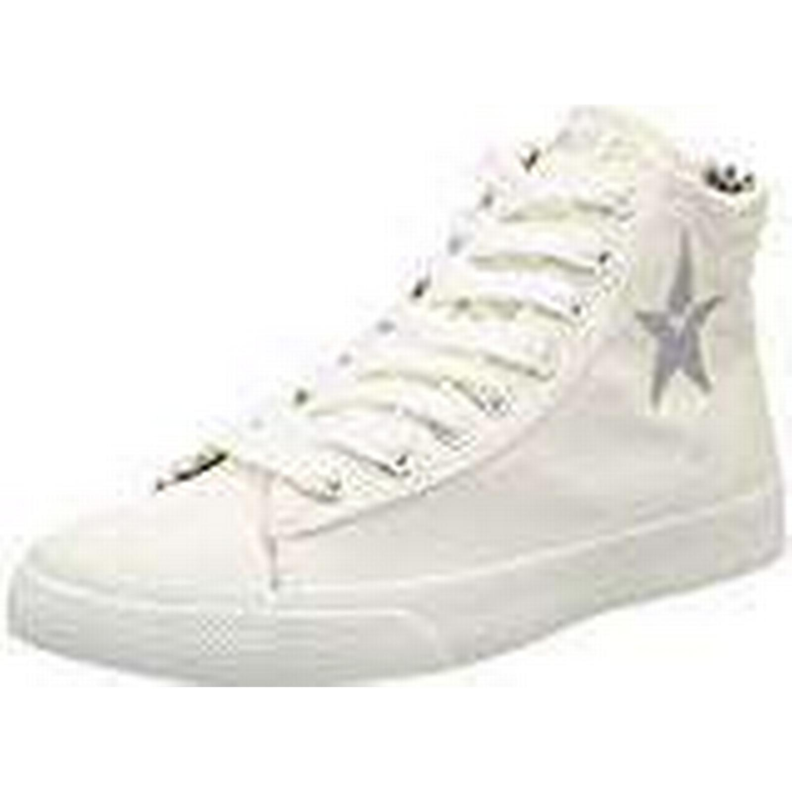 Replay Edna, Women's Hi-Top Trainers Hi-Top Trainers, UK White (Off Wht), 6 UK Trainers, (39 EU) 6a87dd