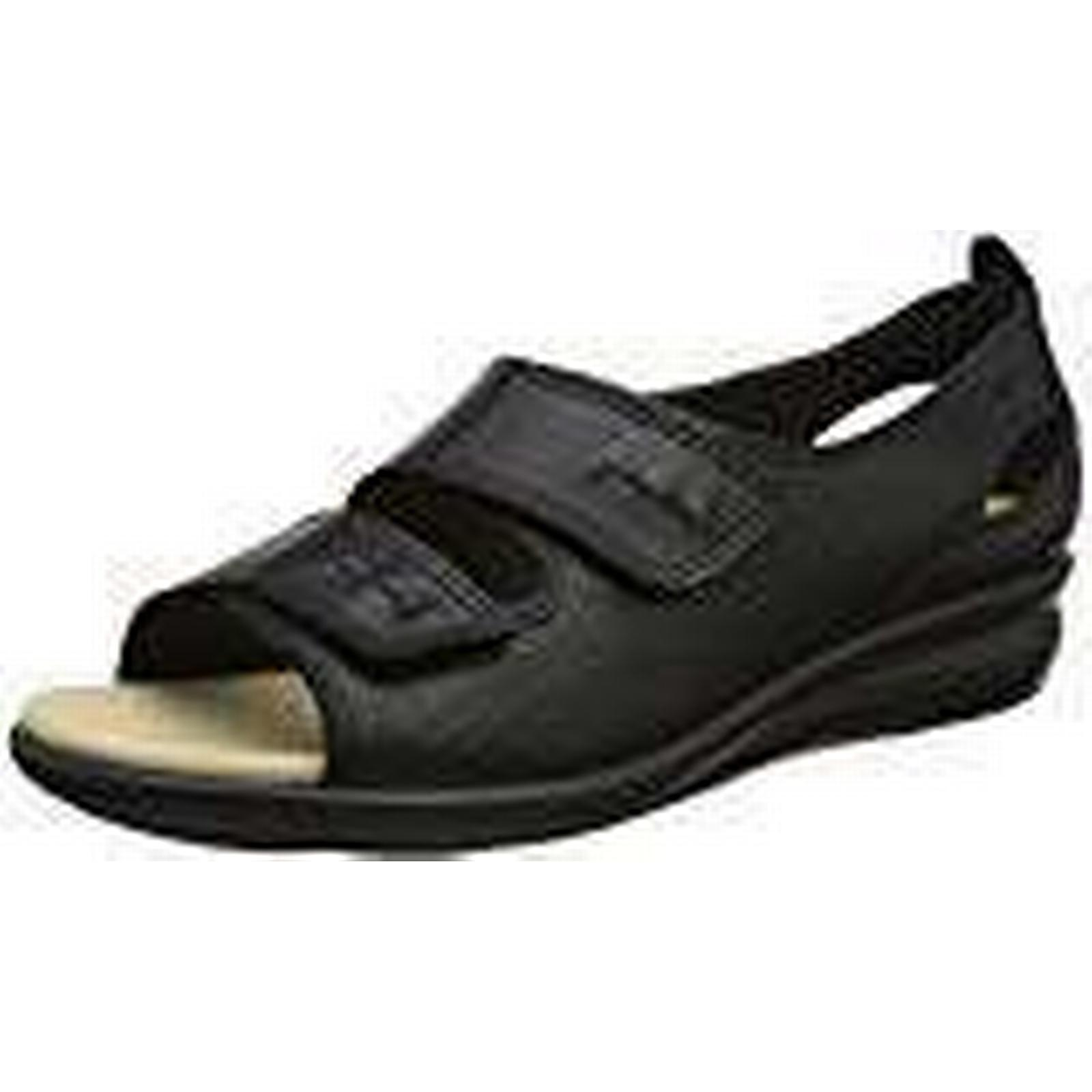 Hotter (Black), Women''s Florence Open-Toe Sandals, (Black), Hotter 4.5 UK 37.5 EU 5e352f