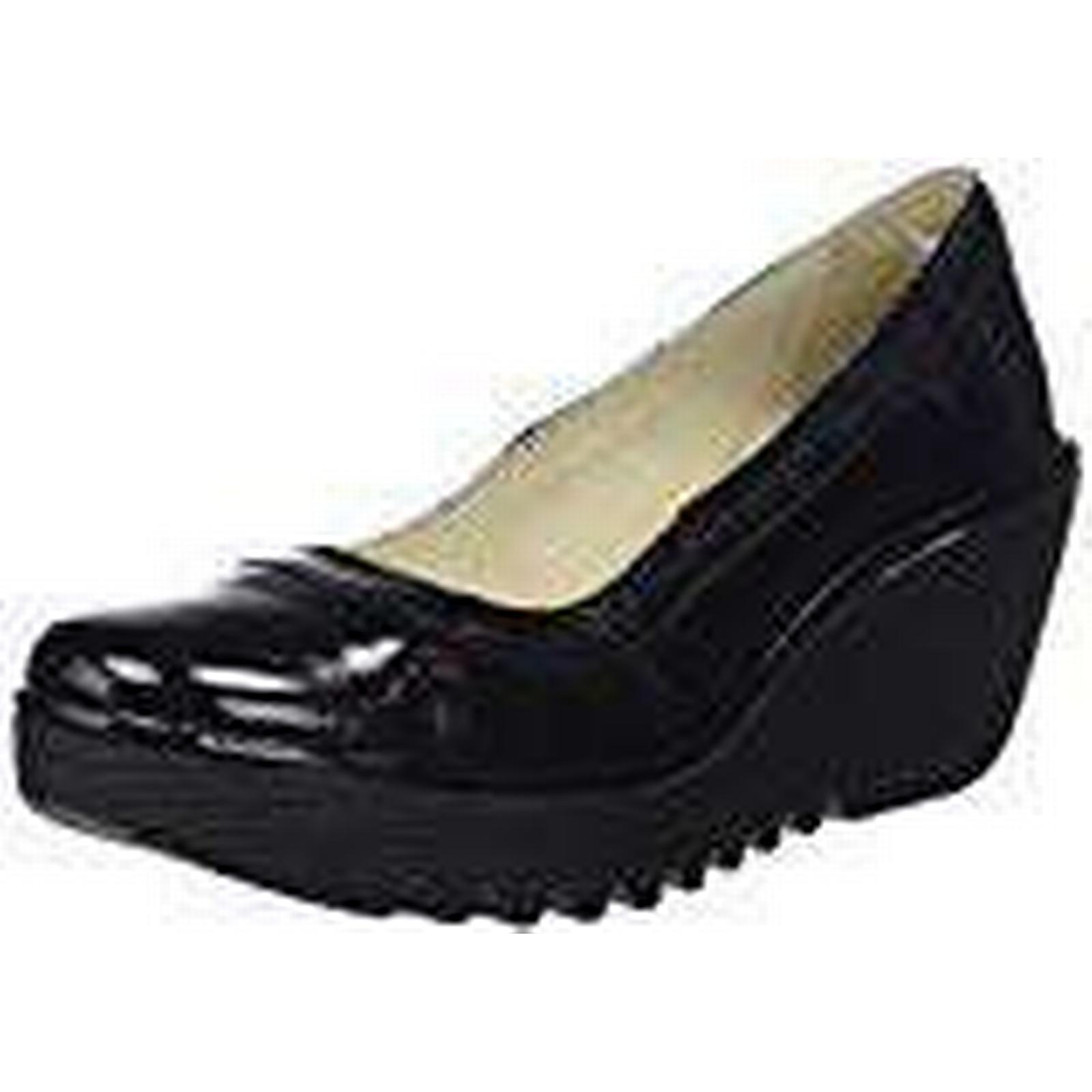 Fly London Women's Yano838Fly Closed UK Toe Heels, (Black), 5 UK Closed 38 EU c2bfd9