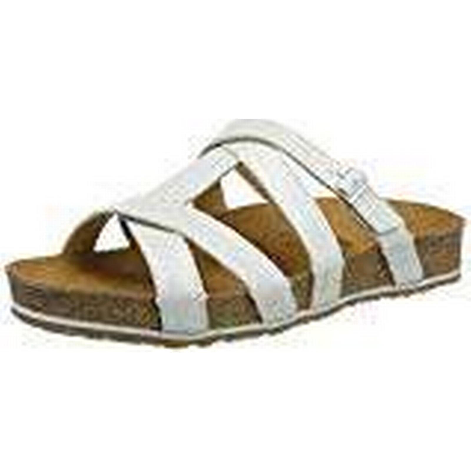 Haflinger 885), Women's Sarah T-Bar Sandals, White (Weiß 885), Haflinger 5 UK 5 UK e2162e