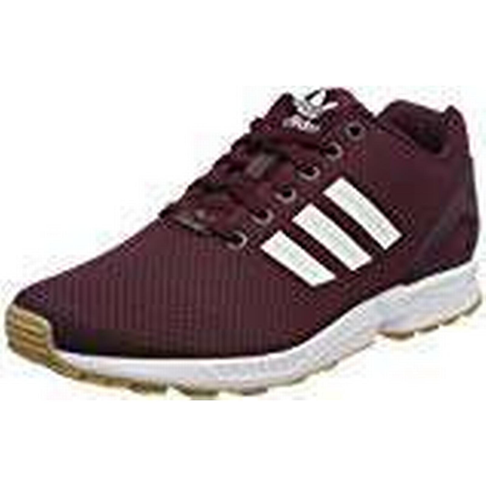 Adidas Men''s Zx Flux Fitness Shoes, Red (Granat/Ftwbla / Gum3 UK 000), 6 UK 6 UK Gum3 c230f0