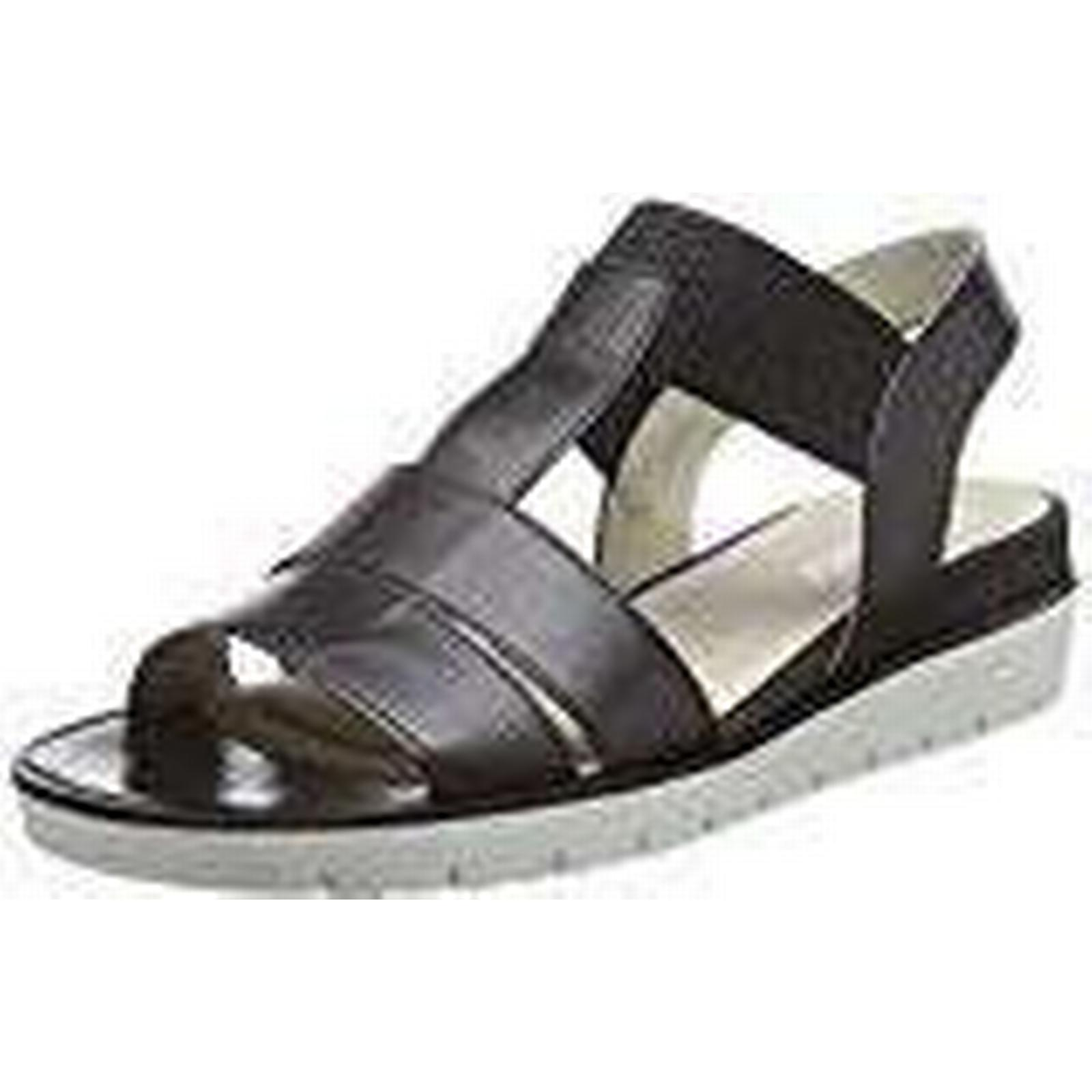 Gabor Shoes Women''s Basic Ankle 3.5 Strap Sandals, Black (Schwarz), 3.5 Ankle UK 02b9c6