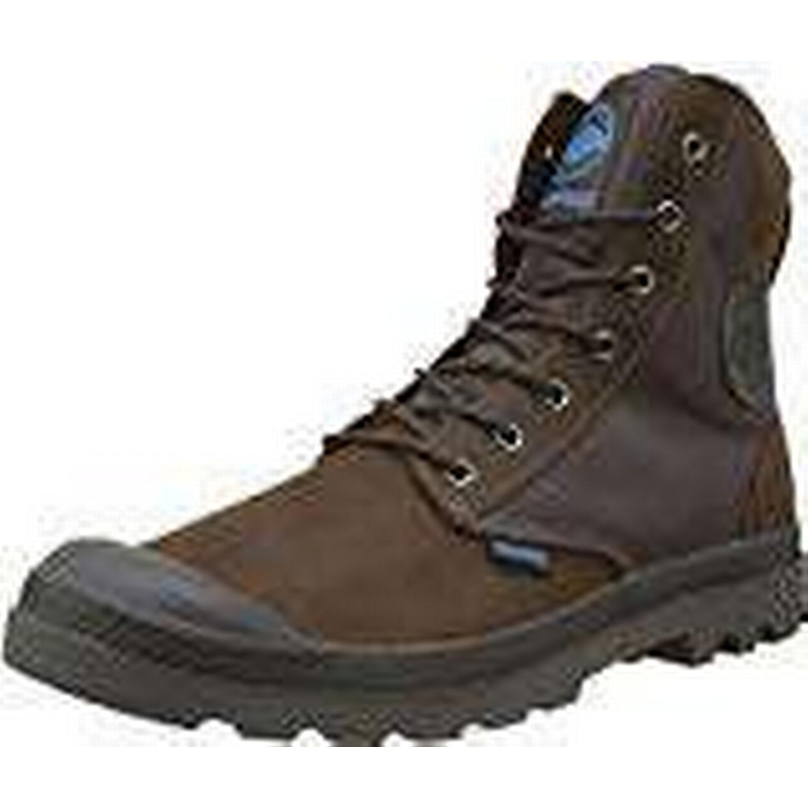 Palladium Unisex Adults' SPOR CUF Wpn U Hi-Top Trainers, Brown UK Chocolate/Forged Iron F01, 6 UK Brown 6 UK 9412fc