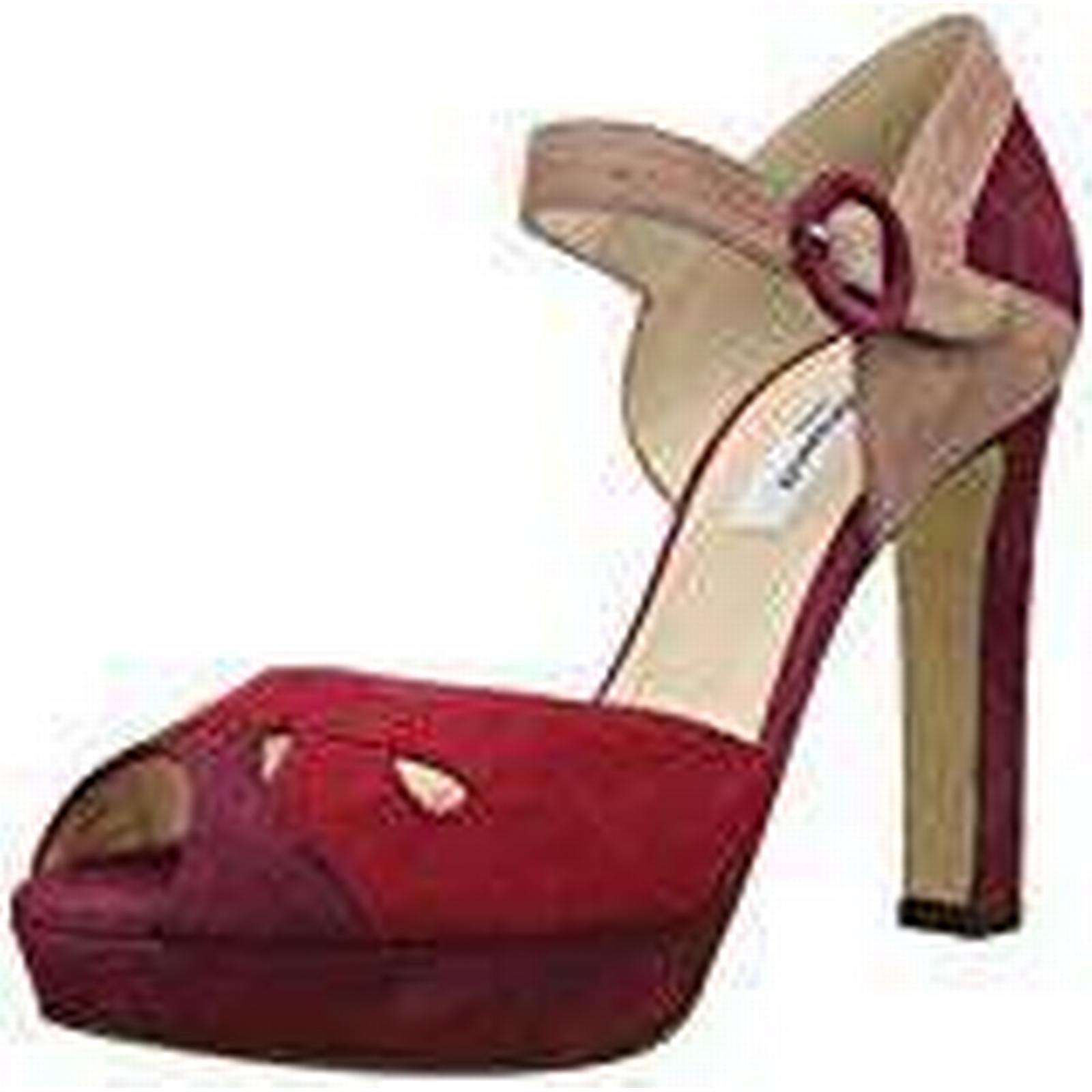 LK BENNETT L.K. Bennett Eli, Multicolor Women's Wedge Heels Sandals, Multicolor Eli, (Roca Red), 8 UK (41 EU) 0ce0e5