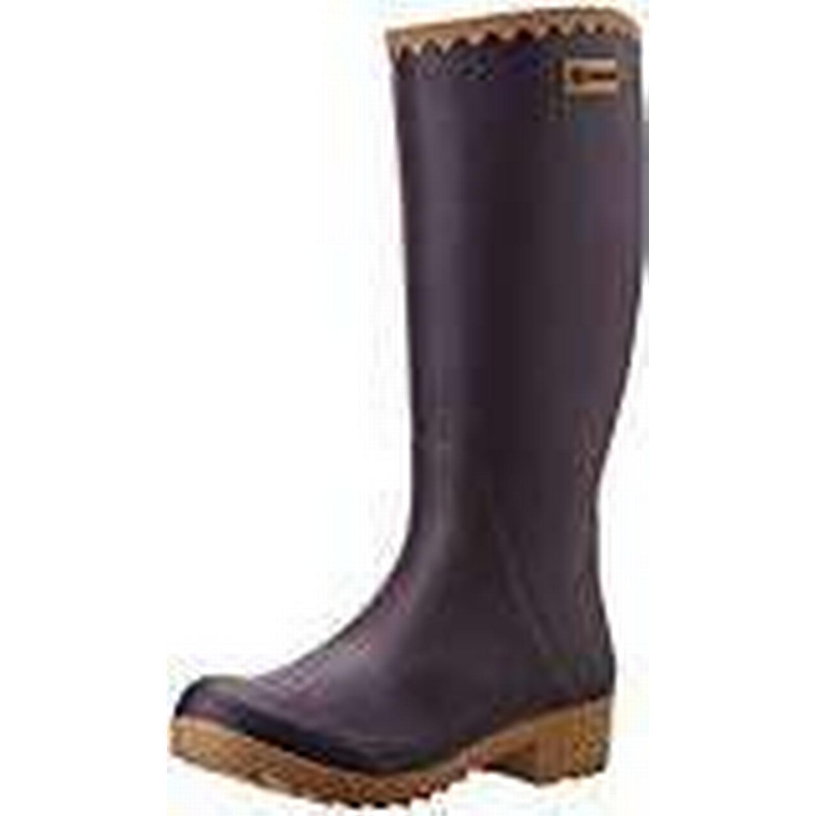 Aigle Women''s Victorine Wellington 5.5 Boots, Purple (Aubergine/N), 5.5 Wellington UK a3c069