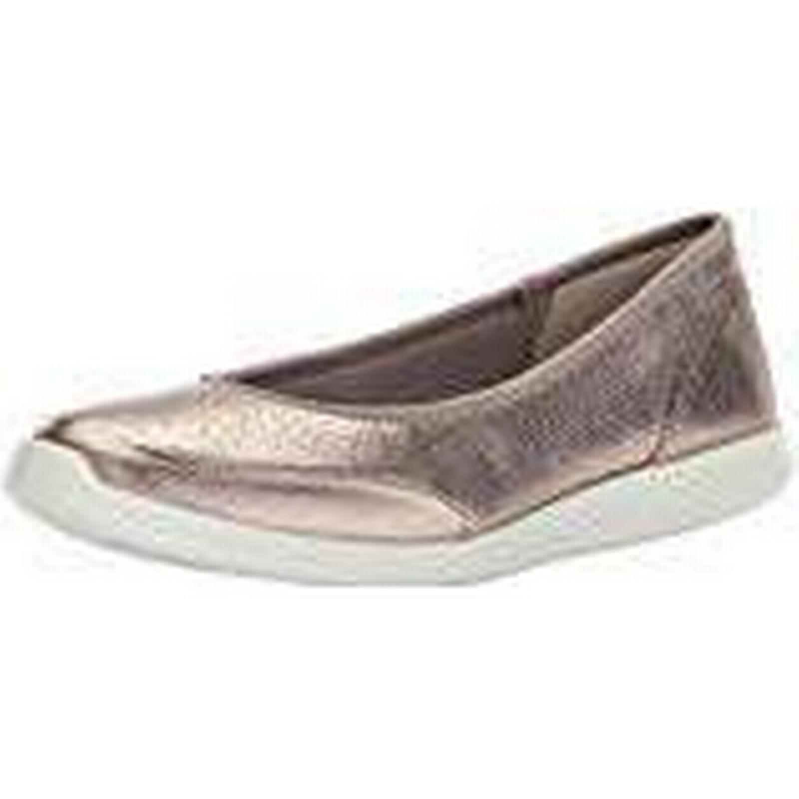 ECCO Women's Sense Closed Toe Ballet Flats, Silver (Warm Grey UK 1375), 3.5 UK 3.5 UK Grey 1f230e