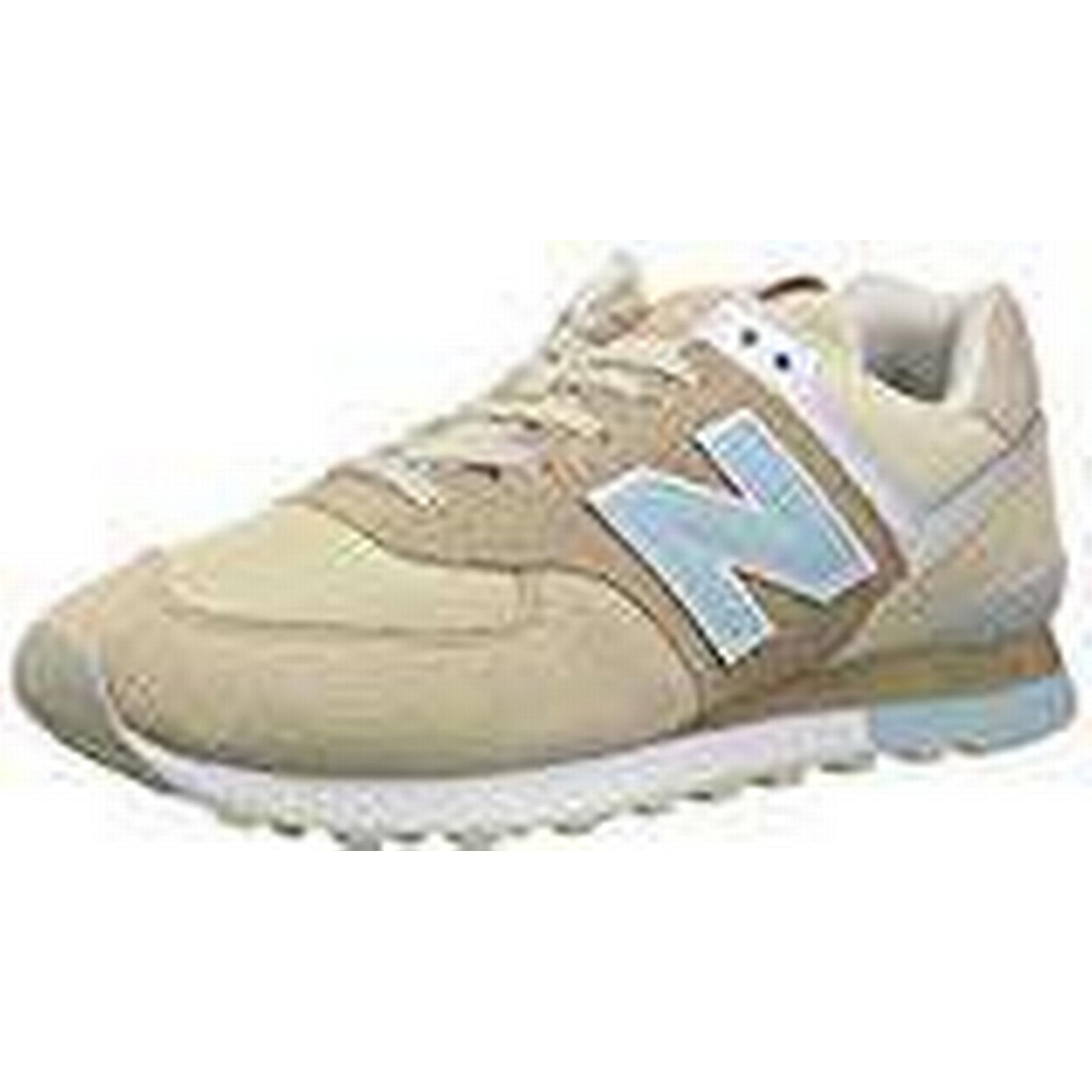 New Balance Ml574V2, Men Low-Top, (45 Multicolored (Beige/Blue), 10.5 UK (45 Low-Top, EU) e8c65f