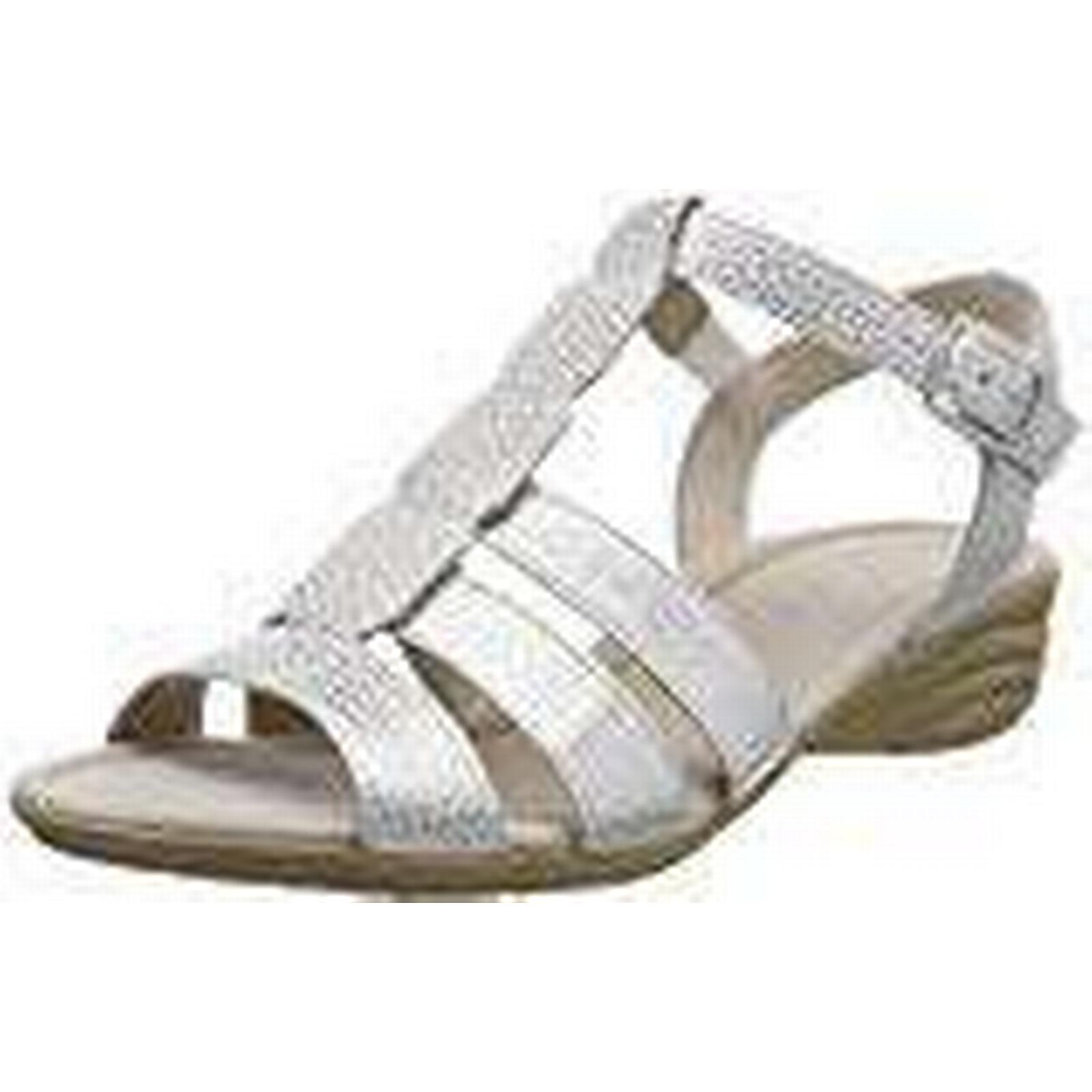 Gabor Women Casual UK Ankle Strap Sandals, White (Ice), 7 UK Casual (40.5 EU) b37656