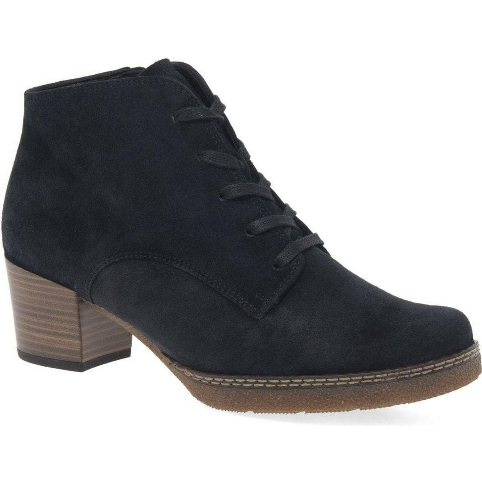 Gabor Mayfair Womens Suede Ankle Boots 4 Colour: Pacific Suede, Size: 4 Boots 802b3b