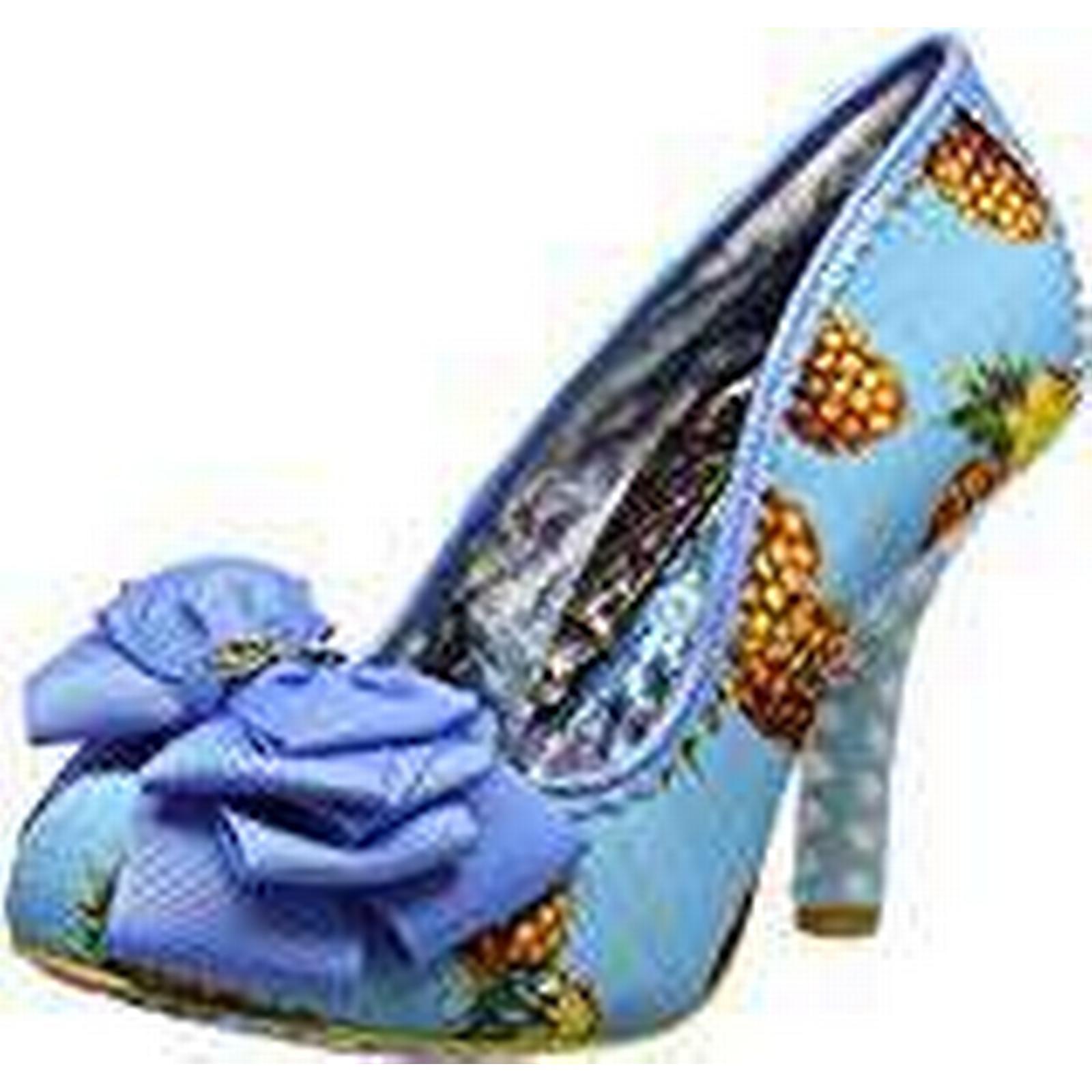 Irregular Choice Women''s Ascot 6.5 Closed-Toe Heels, (Blue Multi), 6.5 Ascot UK 40 EU dd1403