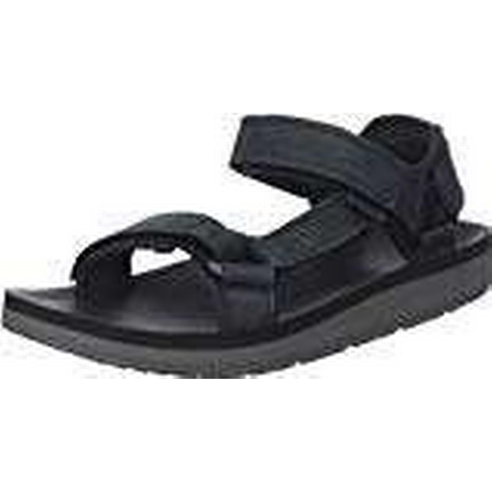 Teva Men's Original Universal Outdoor Premier Leather Sports and Outdoor Universal Lifestyle Sandal, Black, 10 UK (44.5 EU) b72ec5