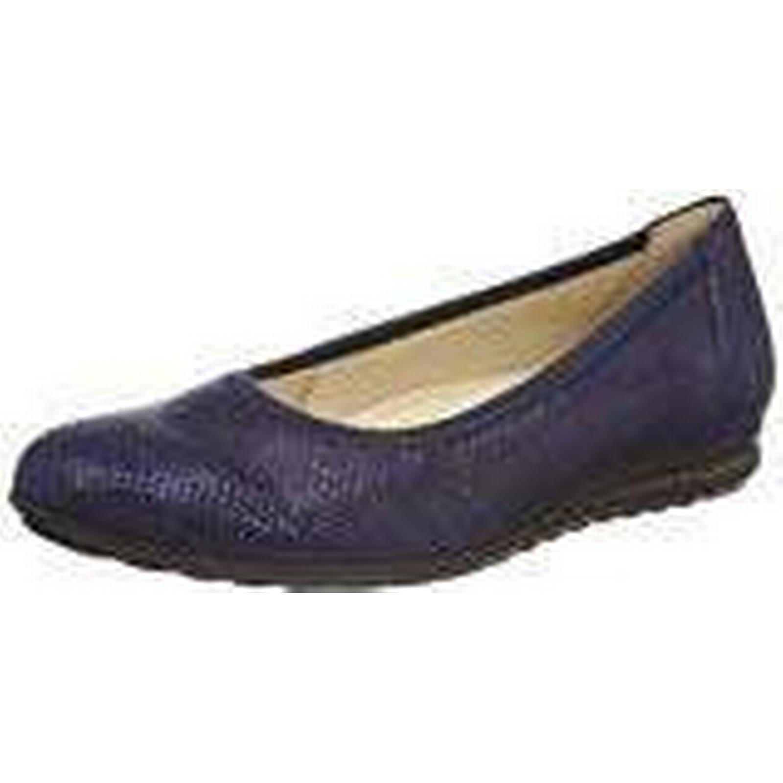 Gabor Women's Comfort Sport-Modern Closed Nightblue Toe Ballet Flats, Blue Nightblue Closed 26, 4 UK 4 UK 0bcce0