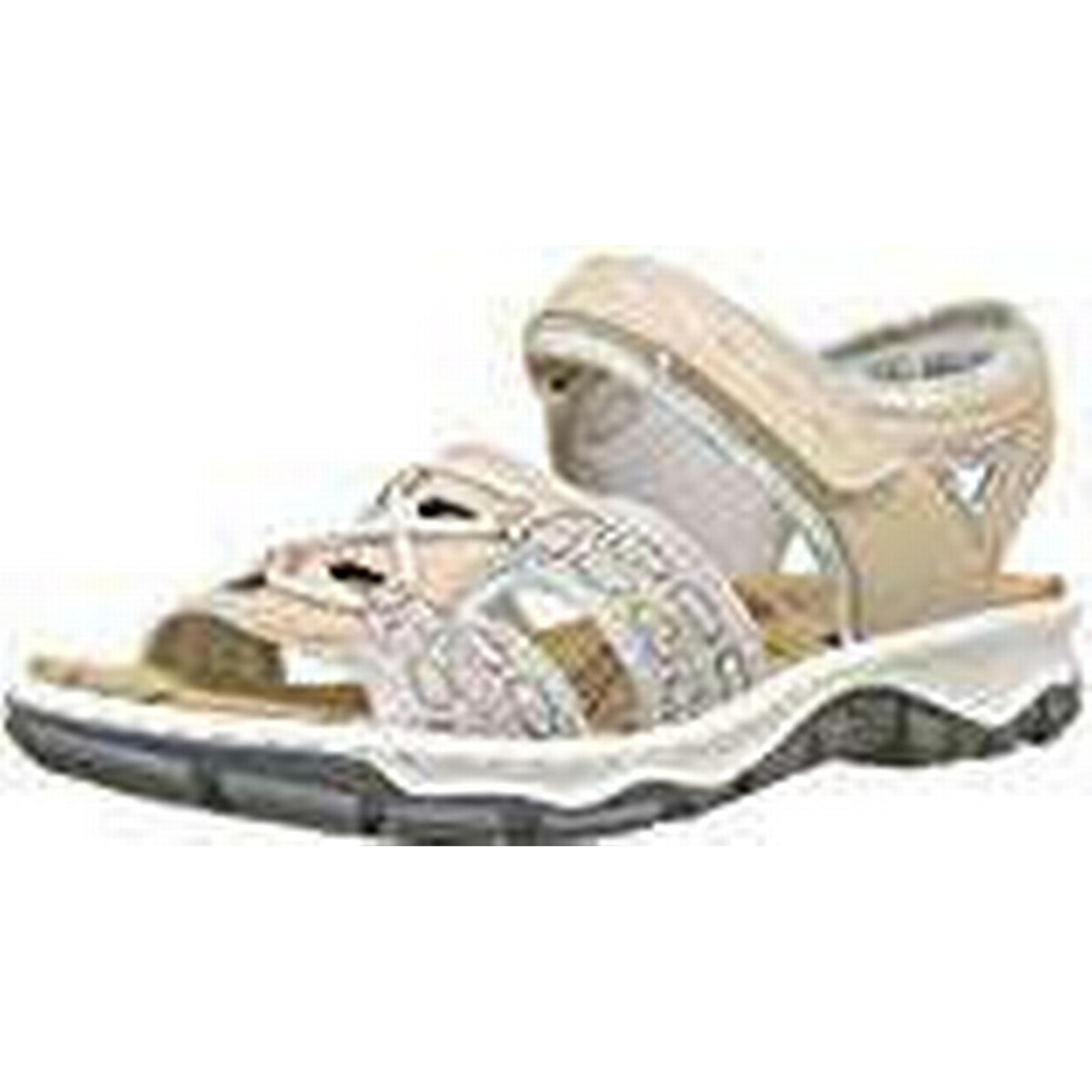 Rieker Women's 68865 Closed Toe 5 Sandals, Pink (rosa/silverflower/Altrosa 31), 5 Toe UK 5 UK c55e1a