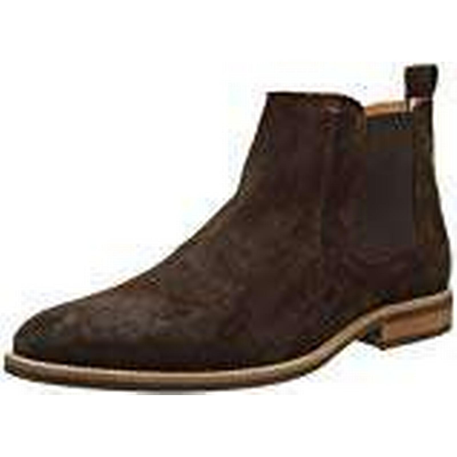 Tommy Bean), Hilfiger D2285Aytona 4B, Men's Chelsea Boots, Brown (Coffee Bean), Tommy 10½ UK (45 EU) c390b4