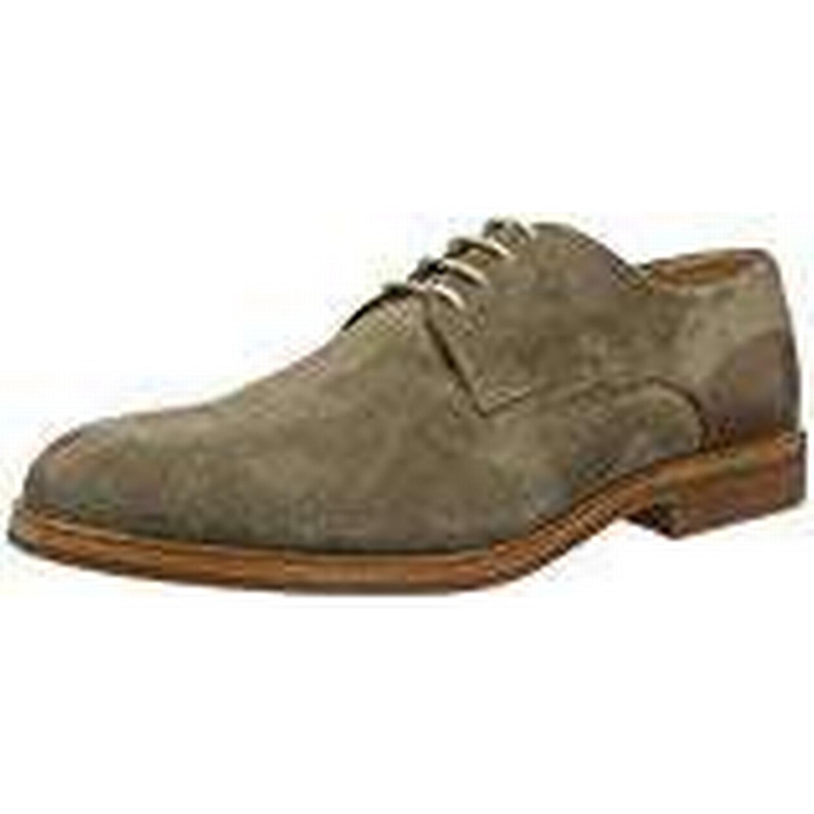 Hudson London Oxfords, Men's Enrico Suede 44 Oxfords, London Brown (Taupe 065), 44 EU 592104