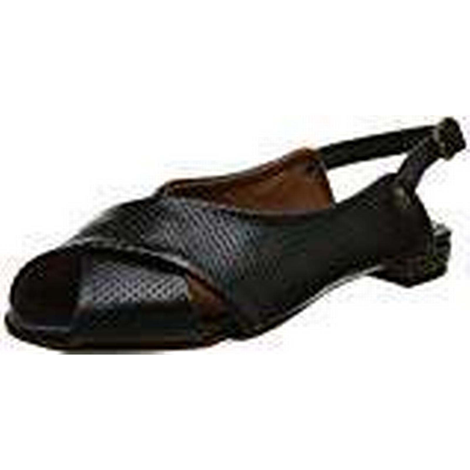 LiliMill Women's Delmar Open 6 Toe Sandals, Black (Nero Ner), 6 Open UK ca3869