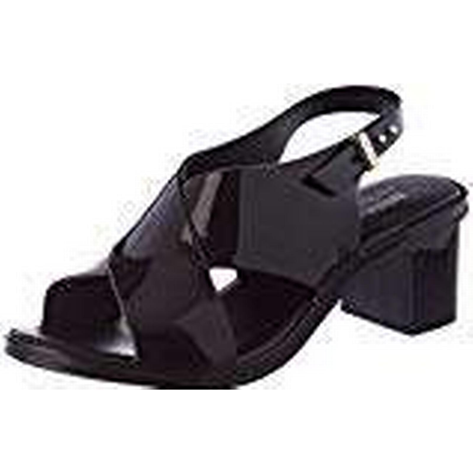 Melissa UK Women''s JW Jamie Ankle Strap Sandals, (Black), 6 UK Melissa 39 EU 39 EU 1928b1