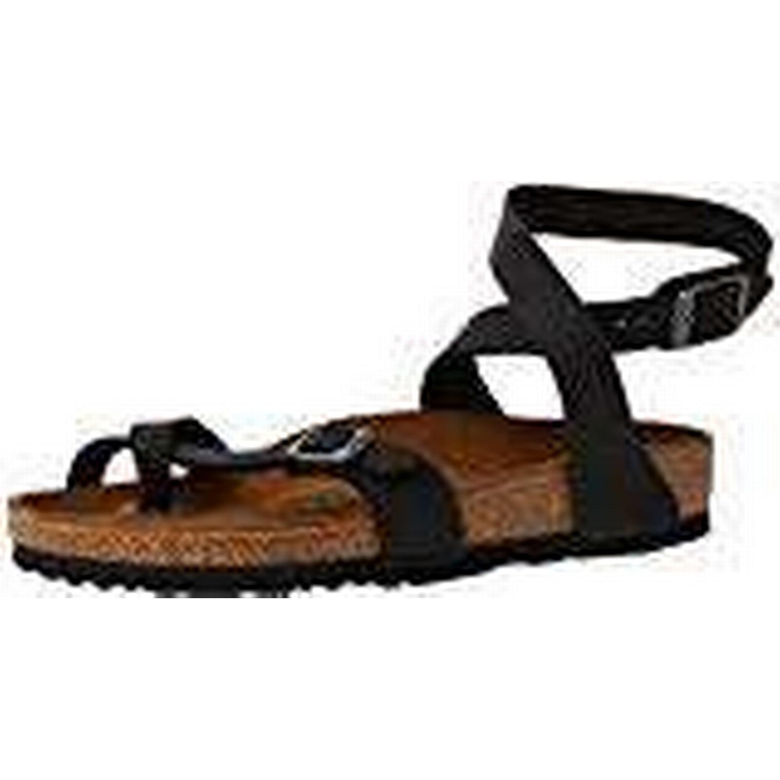 Birkenstock Women's Black Yara Ankle Strap Sandals, Black Women's (Noir Noir), 3.5 UK (36 EU) 8413af