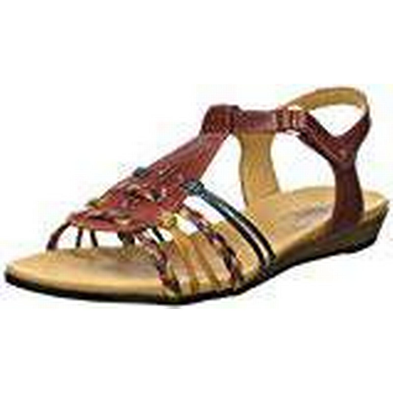Pikolinos Women's Alcudia 816 T-Bar UK Sandals, Red (Sandia), 9 UK T-Bar 656255