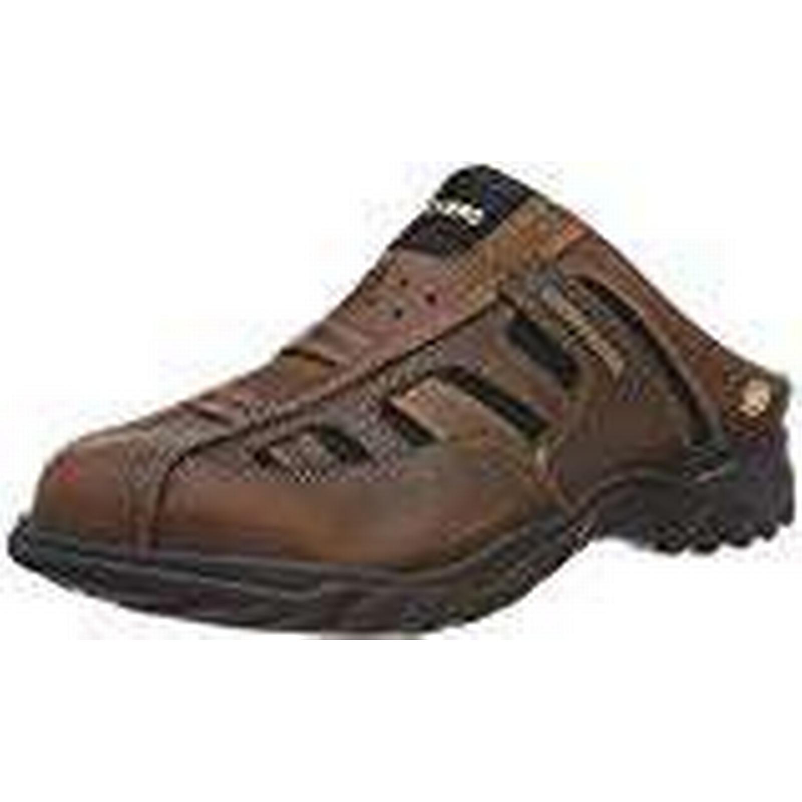 Dockers by Gerli Men's Brown 36LI005-112410 Closed Toe Sandals, Brown Men's (reh 410), 8 UK 8 UK 94739c