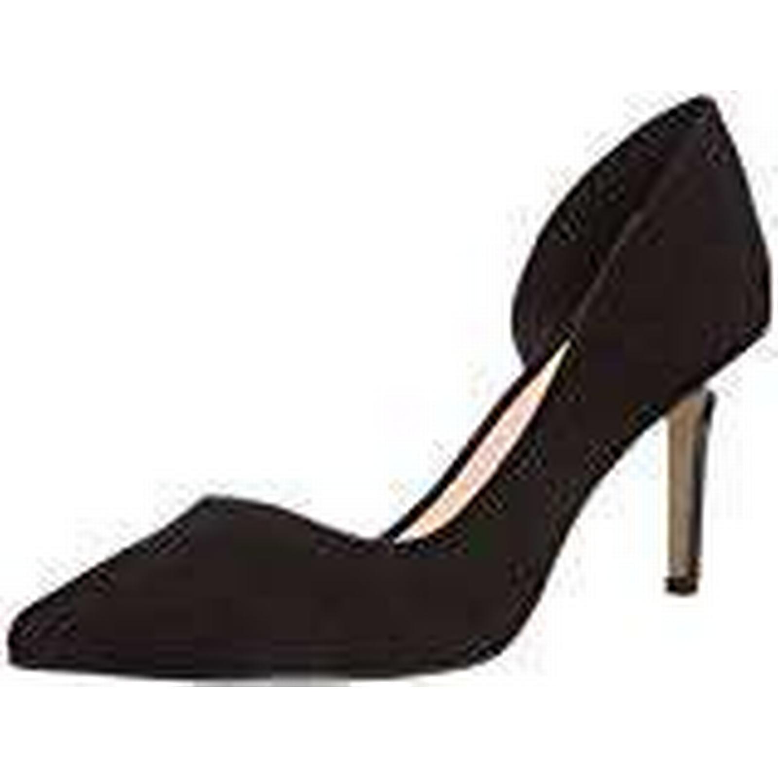 Buffalo Womens H733-25 P1751A (BLACK Closed pumps Black Schwarz (BLACK P1751A 01) Size: 7 618304